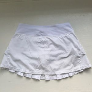 Ivivva White Tennis Skirt